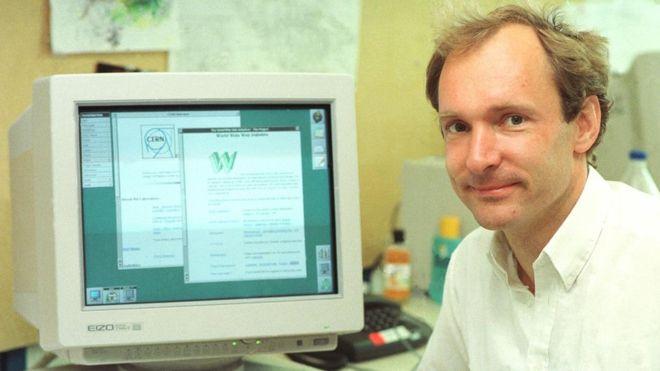 El físico Tim Berners-Lee inventó la World Wide Web como una herramienta útil para científicos en 1989. | FOTO: CERN